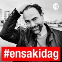 Logo du podcast 459. Ett samtal om Facebook Data for good - med Anna Lerner Nesbitt #ensakidag #live