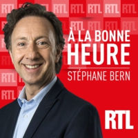 "Logo of the podcast Michaël Youn, Jacques Pradel, Bertrand Dicale et Maxime Le Forestier dans ""À la Bonne Heure !"" du l…"