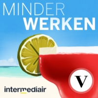 Logo of the podcast De Minder Werken Podcast