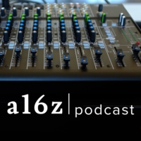 Logo of the podcast a16z Podcast