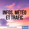 Logo of the podcast INFOS, METEO et TRAFIC de Nostalgie