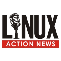 Logo of the podcast Linux Action News 180
