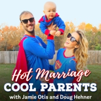Logo of the podcast Hot Marriage. Cool Parents.