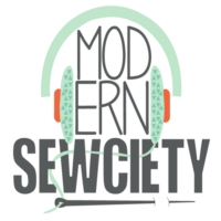 Logo of the podcast Modern Sewciety Podcast