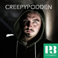 Logo of the podcast Creepypodden Live: Hos familjen