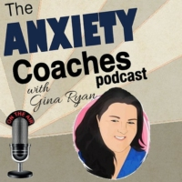 Logo of the podcast The Anxiety Coaches Podcast