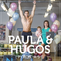 Logo of the podcast Paula och Hugos podcast