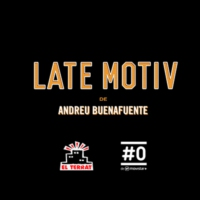 Logo of the podcast LATE MOTIV de Andreu Buenafuente