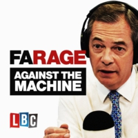 Logo of the podcast Fox News Presenter Tucker Carlson talks Trump to Nigel Farage