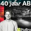 Logo of the podcast 40 jaar AB