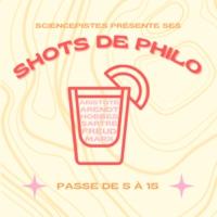 Logo du podcast Shots de Philo
