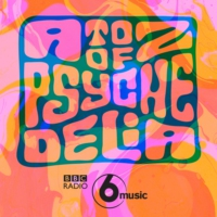 Logo of the podcast A to Z of Psychedelia on 6 Music