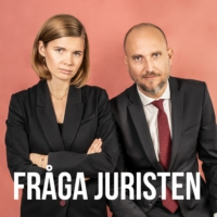 Logo of the podcast Fråga juristen