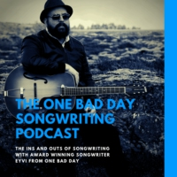 Logo of the podcast The One Bad Day Songwriting Podcast