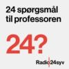 Logo du podcast 24 Spørgsmål til Professoren