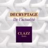 Logo of the podcast DECRYPTAGE DE L'ACTUALITE