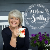 Logo of the podcast At Home With Sally