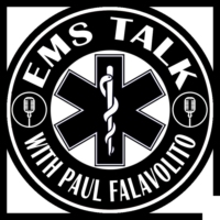 Logo of the podcast EMS Talk