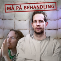 Logo du podcast Må på behandling – Med Morten Ramm