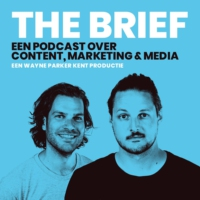 Logo of the podcast The Brief - Een podcast over media, marketing en content