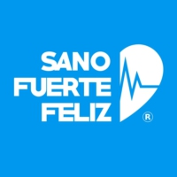 Logo of the podcast Sano Fuerte y Feliz