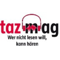 Logo of the podcast taz-Cast