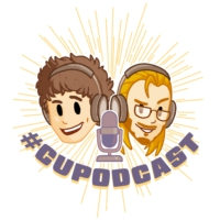 Logo of the podcast #CUPodcast 196 - Atari Hotels, Nintendo Logo Change, Brady Rookie Card Traded for NWC Cart
