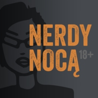 Logo of the podcast nerdy nocą