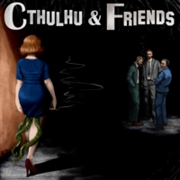 Logo du podcast Cthulhu & Friends Extras – D Crimmus Special