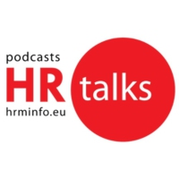 Logo du podcast HR Talks #6 (by HRMinfo.eu) with Jacques Crahay, CEO at COSUCRA & Chairman of UWE (FR)
