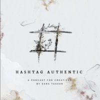 Logo of the podcast Hashtag Authentic - for small businesses, bloggers and online creatives