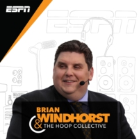 Logo of the podcast Brian Windhorst & The Hoop Collective