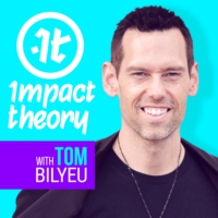 Logo of the podcast Impact Theory with Tom Bilyeu
