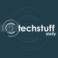 Logo of the podcast Tech Stuff Daily