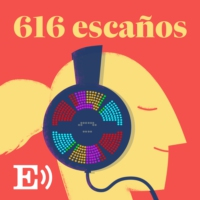 Logo of the podcast Promo 616 Escaños con Montserrat Domínguez