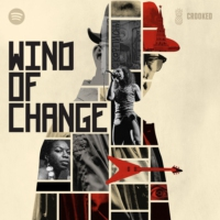 Logo of the podcast Wind of Change, coming May 11