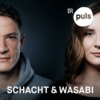 Logo of the podcast Schacht & Wasabi – der Deutschrap-Podcast von PULS