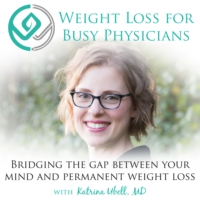 "Logo of the podcast Ep #136: How Much Weight Loss Is ""Good Enough?"""