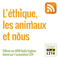 Logo of the podcast L214 : L'éthique, les animaux et nous