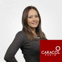 Logo of the podcast Teatro Colón de Bogotá. Claudia del Valle, Directora
