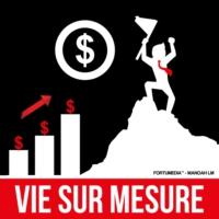 Logo of the podcast VIE SUR MESURE™