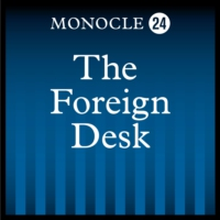 Logo of the podcast The Foreign Desk Live: 2020 election special
