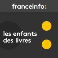 "Logo du podcast franceinfo junior livres. ""Interfeel"", le monde ultra connecté d'Antonin Atger"