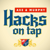 Logo of the podcast Hacks on Tap with David Axelrod and Mike Murphy