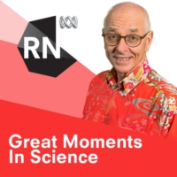 Logo of the podcast Great Moments In Science - with Dr Karl Kruszelnicki