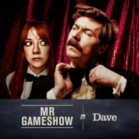 Logo of the podcast Mr Gameshow with Mike Wozniak & Diane Morgan