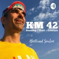 Logo du podcast Km42 - Running - Trail - Lifestyle