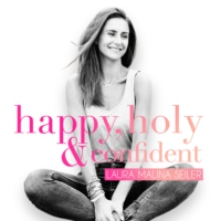 Logo du podcast happy, holy & confident. Dein Podcast fürs Herz und den Verstand