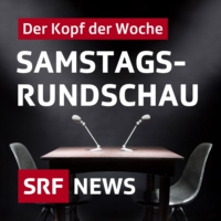 Logo du podcast mit Bundesrat Guy Parmelin