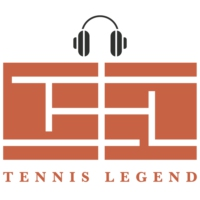 Logo of the podcast Tennis Legend Podcast